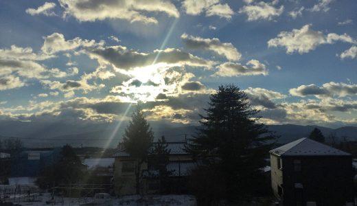 田舎暮らしの詩 ~長野県伊那市より VOL.15~ 月の明るさ、太陽の暖かさ
